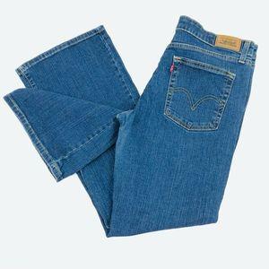 Levi's 519 Women's 13 JR Flare Blue Denim Jeans